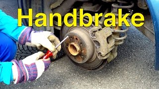 Saab 9-5 DIY: Handbrake Adjustment - Trionic Seven
