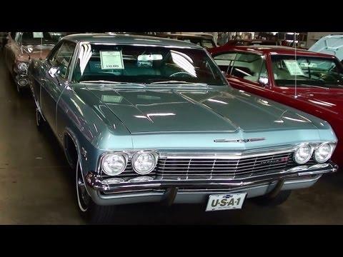 1965 Chevrolet Impala SS 396 Big-block V8 Fast Lane Classic Cars