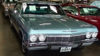 1965 Chevrolet Impala SS 396 Big-block V8 Fast Lane Classic Cars