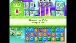 Candy Crush Jelly Saga Level 1210 (3 stars, No boosters)