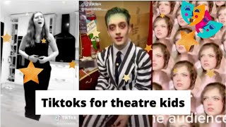 Tiktoks for theatre kids stuck in lockdown