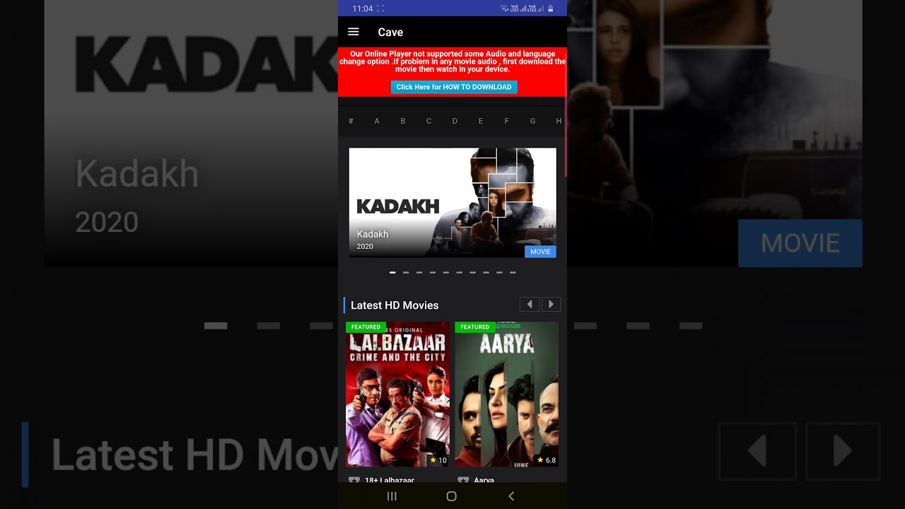 Download free 13 movie app 100%working with link for Hollywood dubbed,hindi,punjabi,english,web series