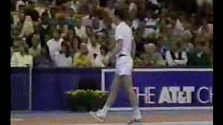 John Mcenroe goes ballistic at the umpire