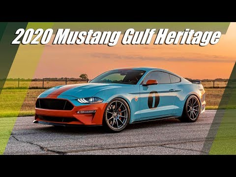2020 FORD Mustang Gulf Heritage Edition By Brown Lee Performance