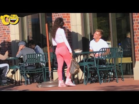 Funny Public Prank - Try not to laugh or grin while watching this funny video