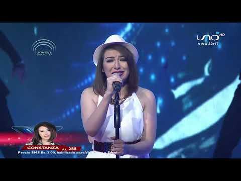 Increíble interpretación de Constanza.| Noche de dedicatoria | Factor X Bolivia 2018