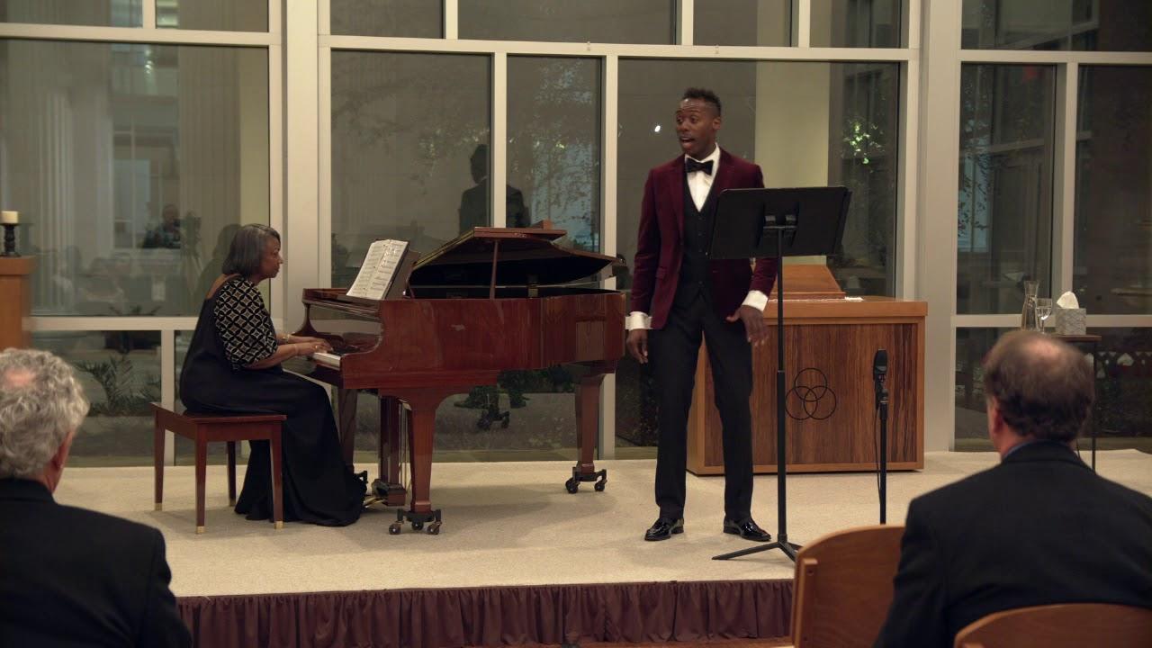 Heav'n, Heav'n, arr. Harry T. Burleigh - Donovan Black (tenor), Dr. Barbara Bouie (Piano)