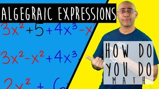 An Introduction to ALGEBRAIC EXPRESSIONS || Learn How to Express Yourself Properly