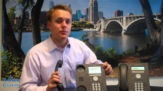 How to Park, Hold, Intercom, & Page with the 9504 & 9508 Avaya IP Office Digital Phones