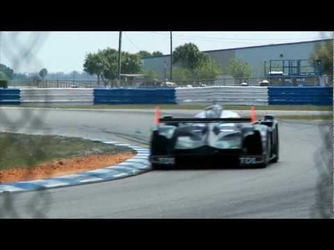 Audi R18 TDI Testing at Sebring Raceway
