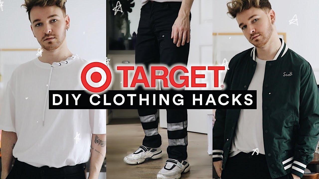 b96a407541be DIY MENS TARGET CLOTHING + FASHION HACKS (2019) // Imdrewscott - YouTube