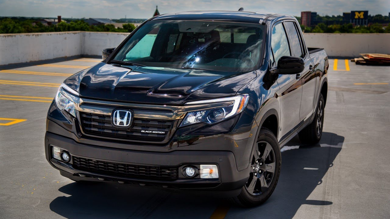 NEW HONDA RIDGELINE BLACK EDITION 2017 - Exterior and Interior - YouTube