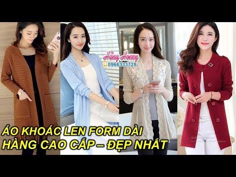 Những mẫu Áo Khoác Len dài Đẹp nhất cho nữ, mặc vào Chuẩn Xinh!