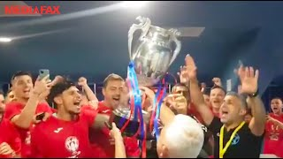 Petrecere în Berceni, după ce FCSB a câştigat Cupa României