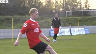 Man United legends Giggs, Butt, Scholes & the Nevilles go up against Salford City in training