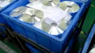 Aluminum Sputtering Target and Mask for CD/DVD replication