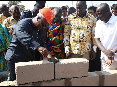 Ghana, 2013: Mahama's administration major economic projects