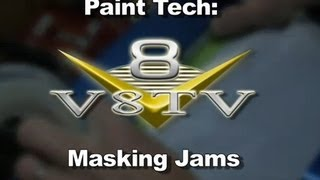 Paint Tech: Masking Door, Hood, & Trunk Jambs with 3M Specialty Tapes Video V8TV