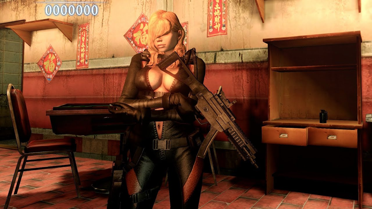 Mod Showcase #4 - Resident Evil 6 - Rachael by felixnew by FluffyQuack