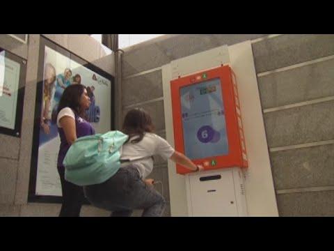 今古传奇2016墨西哥抗肥出奇招深蹲10次换车票【大千世界】地铁免费搭车|减肥抗2016新款女装復古碎花