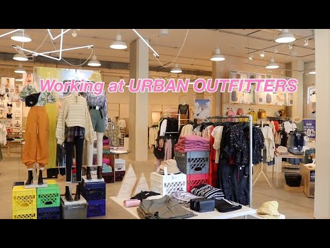 what it's like working at urban outfitters!