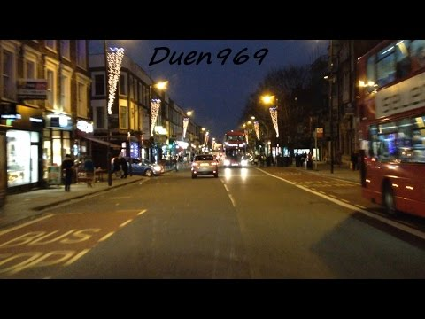 London Streets (453.) - Arnos Grove - East Finchley - Highgate - Archway - Tufnell Park