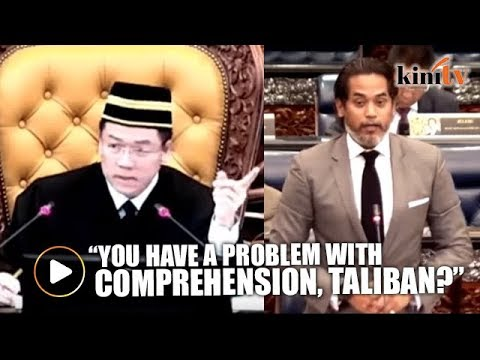 "Khairy calls Nga Kor Ming ""Taliban"" in Parliament, mocks his comprehension skills"