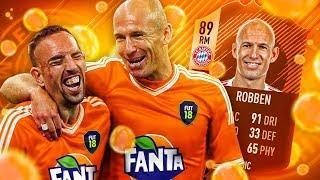 OMG FANTA MOTM ROBBEN! THE LEFT FOOT LEGEND! OLDEST BUNDESLIGA SQUAD IN FIFA! FIFA 18 ULTIMATE TEAM
