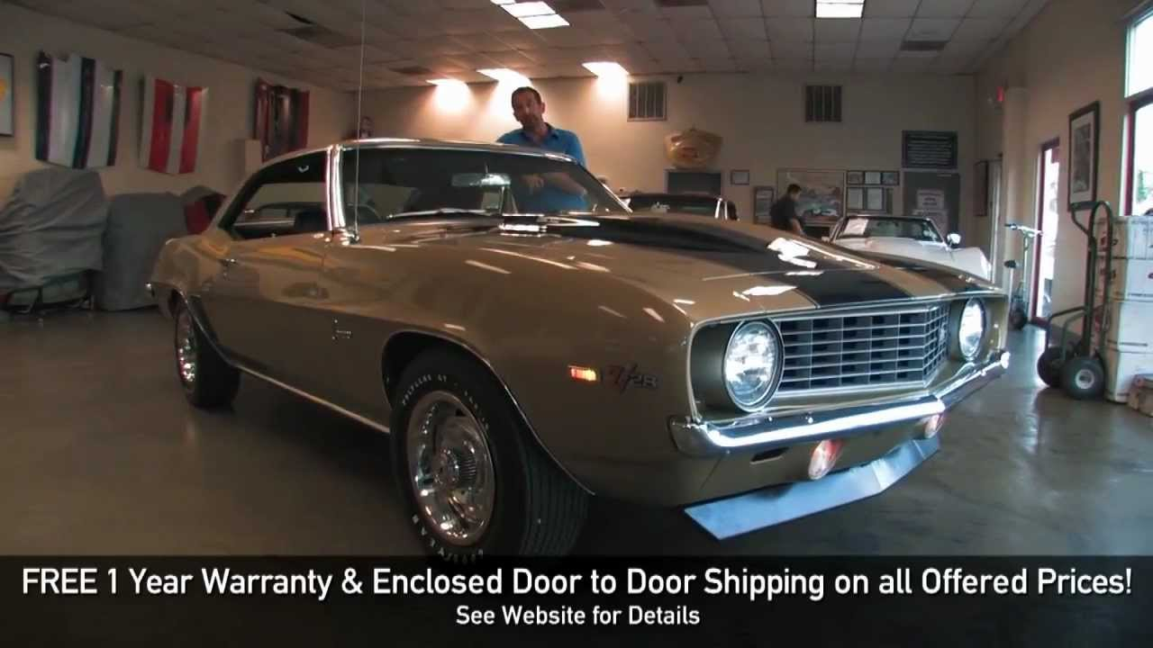 1969 Chevrolet Camaro Z/28 for sale with test drive, driving sounds ...