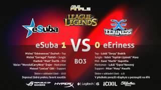 ASUS FINALS 6: eSuba vs. eEriness