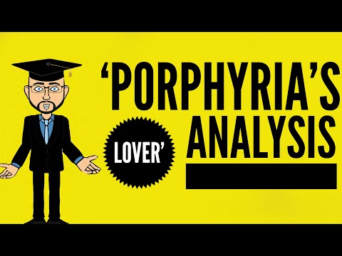 analysis of mood in porphyrias lover 'porphyria's lover,' which we'll discuss below, is a dramatic monologue browning died on december 12, 1889, and was buried in westminster abbey about the poem.