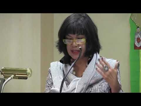 Ana Castillo keynote at the Association for the Study of Women & Mythology Conference  Part 1