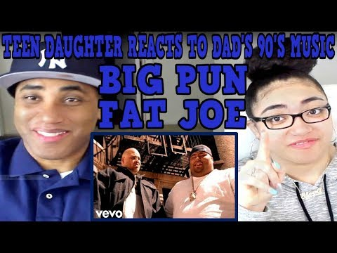 Teen Daughter Reacts To Dad's 90's Hip Hop Rap Music | Big Pun, Fat Joe - Twinz (Deep Cover 98)