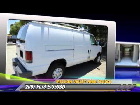 2007 Ford E 350sd Mission Valley Trucks San Jose