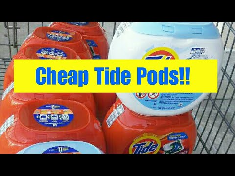 Cheap Tide Pods | Kroger Digital Coupon Savings Event | Round 1 :)