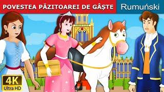 POVESTEA PĂZITOAREI DE GÂȘTE | Povesti pentru copii | Basme in limba romana | Romanian Fairy Tales