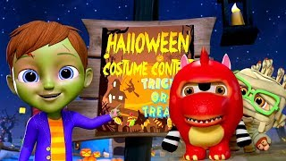 It's Halloween Night | Halloween Music & Songs for Kids | Little Treehouse