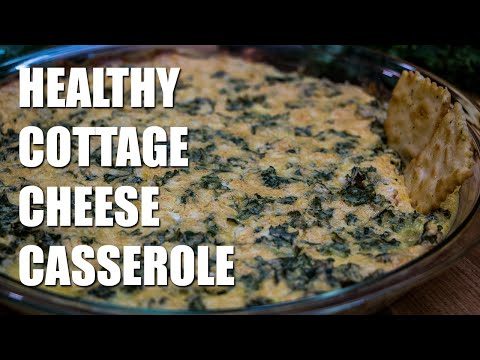 HEALTHY Cottage Cheese Casserole Recipe