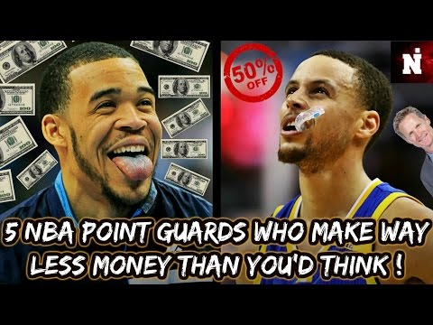 5 NBA Point Guards Who Make WAY Less Money Than You'd Think!