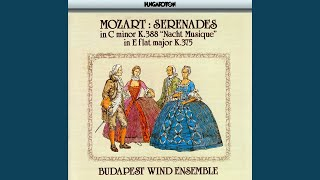 II. Serenade No. 11 in E flat major K. 375 for two oboes, two clarinets, two horns and two...
