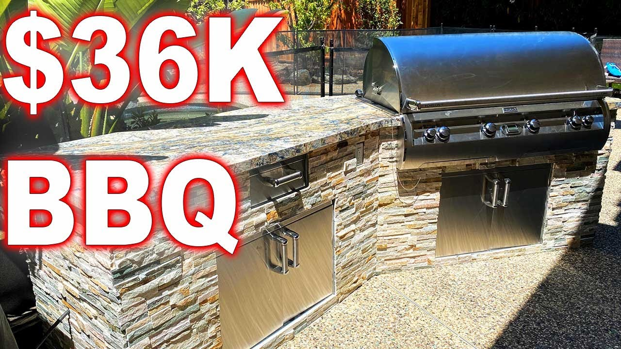 How To Build A 36 000 Bbq Youtube