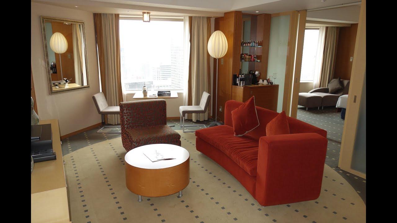 Rooms: ANA InterContinental Tokyo, King Corner Suite (~Jan.2018