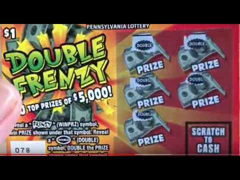 Got ALL DOUBLE SYMBOLS! - $1 DOUBLE FRENZY - PA Lottery Scratch Off Tickets