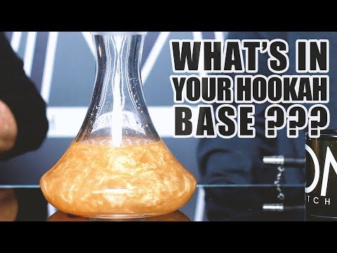 What's in your hookah base | Hookah tips (2020)