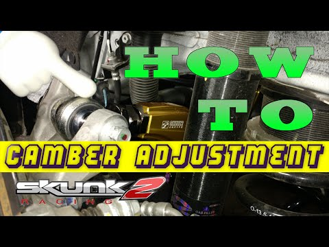 How To Adjust Camber - Honda Civic - Skunk2