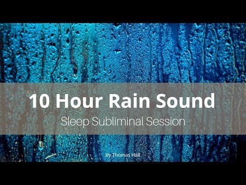 Stop Smoking Forever - (10 Hour) Rain Sound - Sleep Subliminal - By Thomas Hall