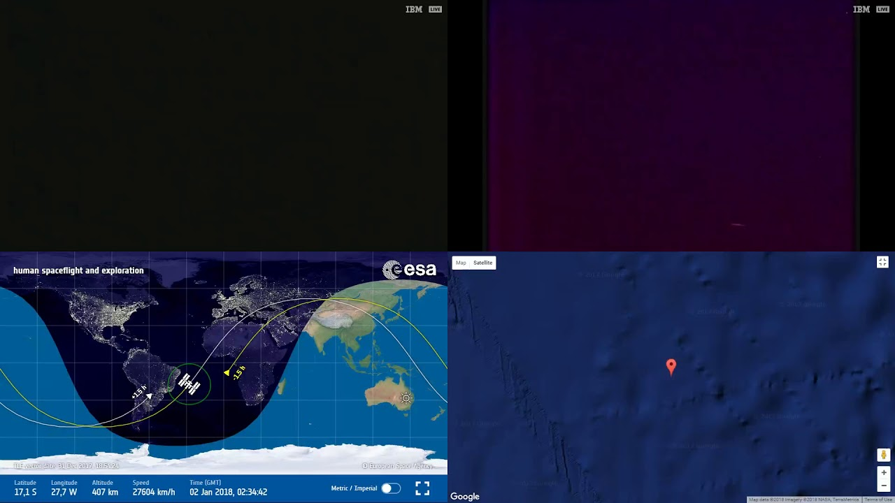 South atlantic anomaly iss space station earth view live nasaesa south atlantic anomaly iss space station earth view live nasaesa cameras and map 11 gumiabroncs Choice Image
