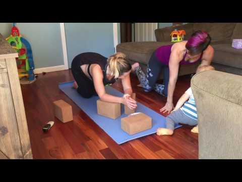 Prenatal Yoga - Leg Exercises