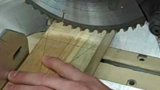 Wood Cheese Knife Holder Part 1