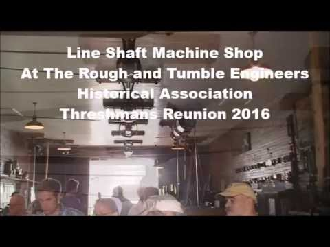 Line Shaft Machine Shop at Rough and Tumble Engineers Historical Association